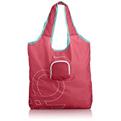 [ベネトン] BENETTON Pocketable Eco Bag 4BE2145J4 Pink 32 (ピンク)
