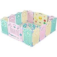子供用ゲームフェンス、室内家庭用フェンスベビーベビーセーフティフェンスクロール幼児玩具ルーム隔離フェンス40-80CM (色 : D)
