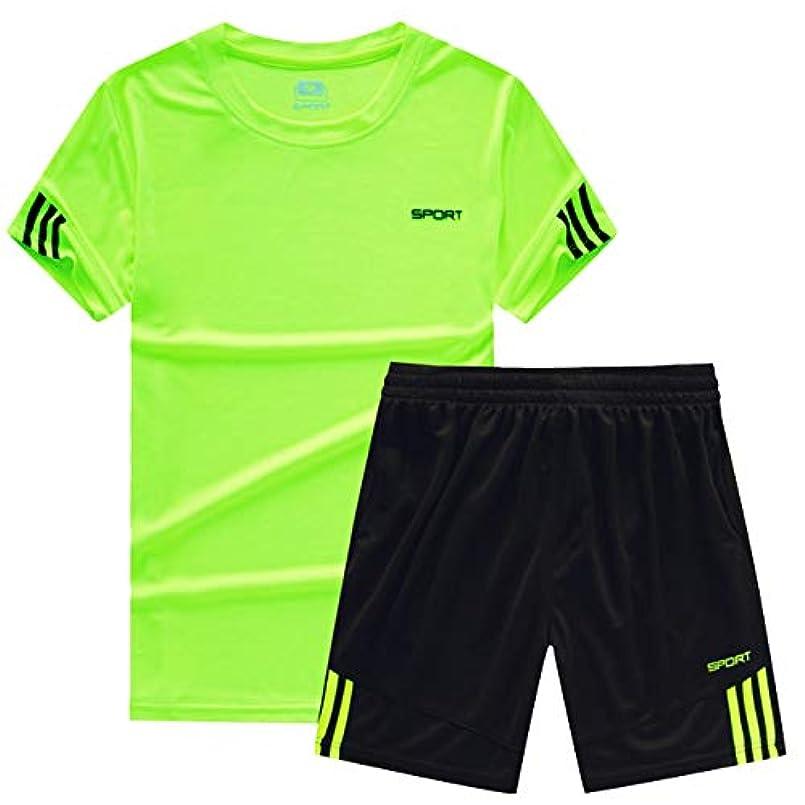 速報罪人葉[ココチエ] スポーツウェア メンズ 半袖 短パン 上下 tシャツ 大きめ セットアップ 部屋着 夏