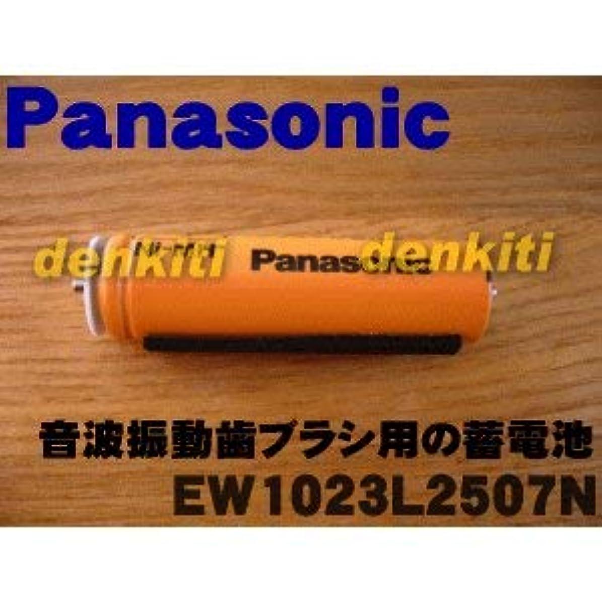 長さ膨らませる省【ゆうパケット対応品】 パナソニック Panasonic 音波振動ハブラシ Doltz 蓄電池交換用蓄電池 EW1023L2507N
