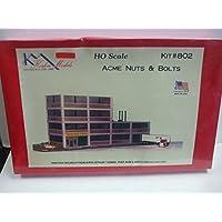 KorberモデルHoスケール – Acmeナット&ボルト工場 – キットno。802