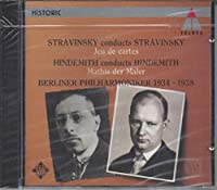 Stravinsky/Hindemith Conducts