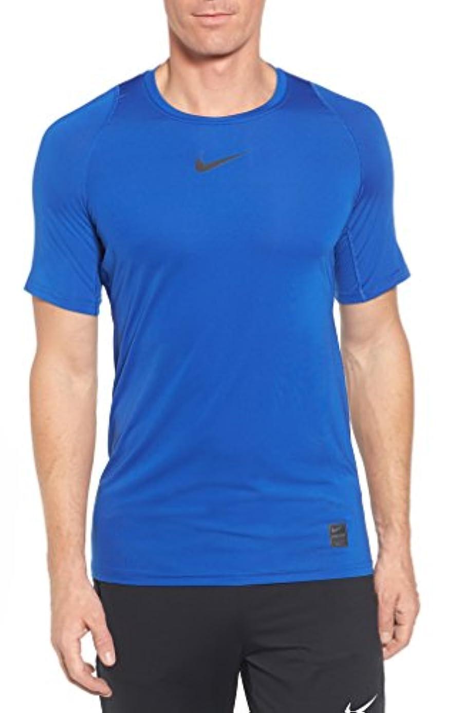 人種真っ逆さま二週間ナイキ トップス シャツ Nike Pro Fitted T-Shirt Game Royal [並行輸入品]