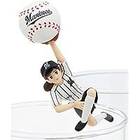 コップのフチ子 野球 ボールのフチ子 千葉ロッテマリーンズver
