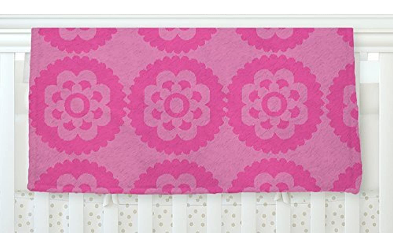 KESS InHouse Nicole Ketchum Moroccan Pink Fleece Baby Blanket 40 x 30 [並行輸入品]