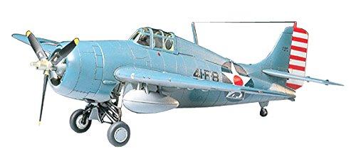 Tamiya 1/48 masterpieces machine series No.34 United States Navy Grumman F F4F-4 Wildcat plastic 61034