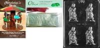 Cybrtrayd mdk25rbk-xx545Deep Throatチョコレート型Chocolatierのバンドル、Includes 25チェロバッグ、25レッドツイスト紐とChocolatierのガイド