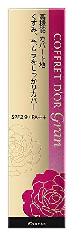 施し毛細血管取り替えるコフレドール グラン 化粧下地 カバーフィットベースUV SPF29/PA++ 25g