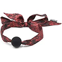 Silk ribbon Open Breathable Mouth Ball