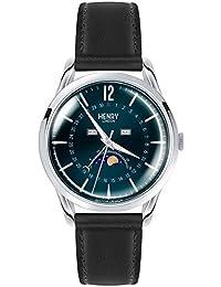 ヘンリーロンドン HENRY LONDON 腕時計 HL39-LS-0071 ナイツブリッジ メンズ レザーベルト [並行輸入品]