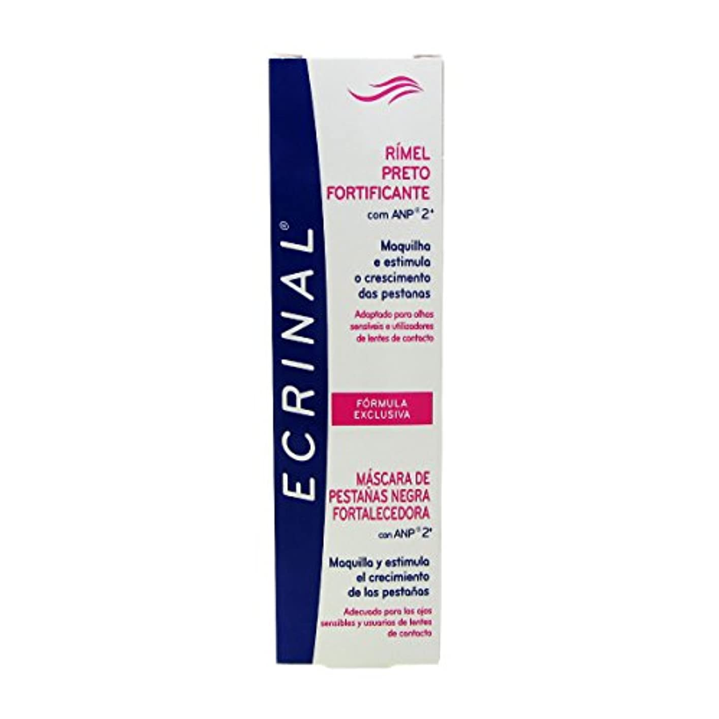 Ecrinal Strengthening Black Mascara 7ml [並行輸入品]