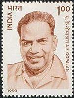 A. K. Gopalan (Ayillyath Kuttiari Gopalan Nambiar) Personality, Freedom Fighter, Khadi movement, Communist leader, Indian National Congress, Communist Party Indian Stamp