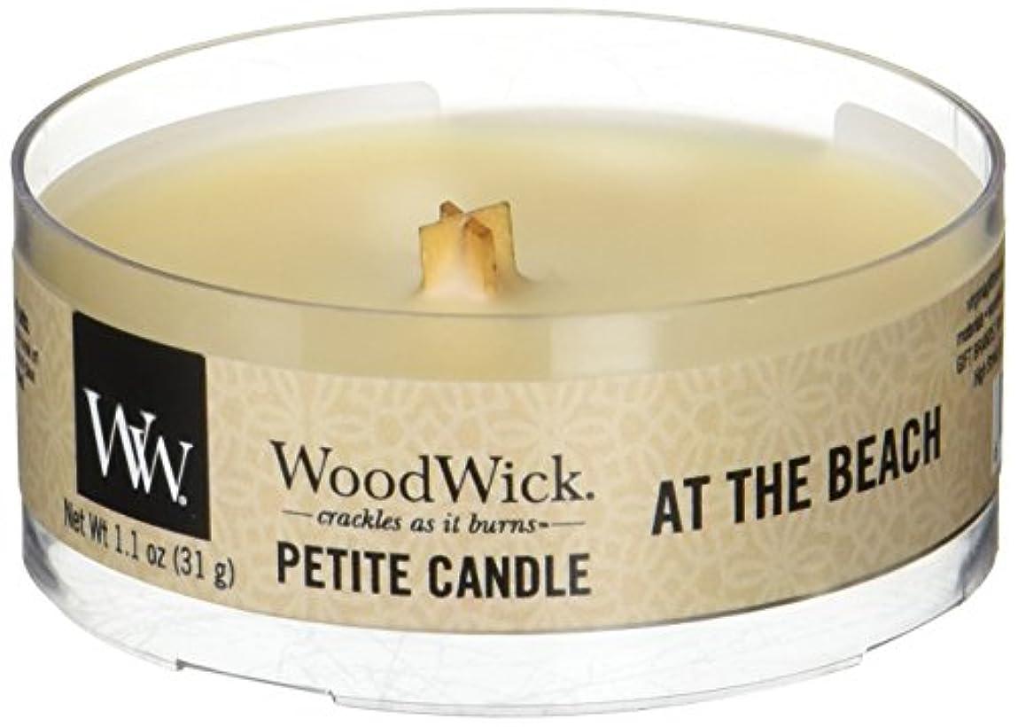 乳製品予知収束Wood Wick ウッドウィック プチキャンドル ビーチ