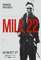 インポートポスターマイル22 –ロンダラウジー–米国映画ウォールプリント-30CM X 43CM