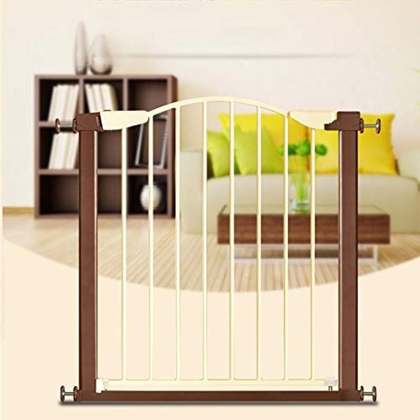 外国人息を切らして折るベビーフェンス 設定が容易ペットや赤ちゃんの安全ゲート、安全ロックが階段門、廊下やドアのスペースに適合 ペットゲート (Size : 65-68cm)
