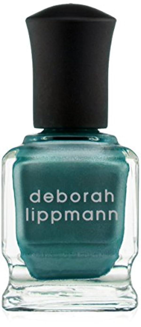 プレフィックスベスト創始者[Deborah Lippmann] デボラリップマン アイルテイクマンハッタン I'LL TAKE MANHATTAN 15mL とても乾きが速く筋になりにくいクロームシリーズ。 大胆で鮮やかな色が勇気と自信を漂わせる 魅力的なテールグリーン