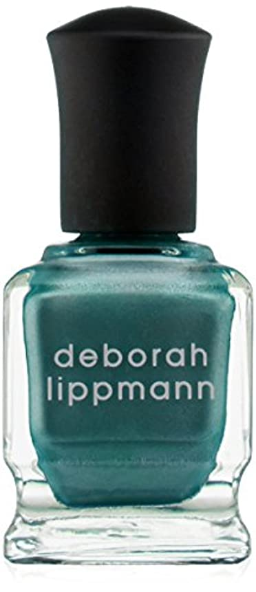 再生可能ディスコそよ風[Deborah Lippmann] デボラリップマン アイルテイクマンハッタン I'LL TAKE MANHATTAN 15mL とても乾きが速く筋になりにくいクロームシリーズ。 大胆で鮮やかな色が勇気と自信を漂わせる 魅力的なテールグリーン