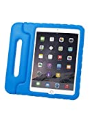 yasushoji iPad Air2衝撃吸収ケース EVA素材 スタンド機能 ハンドル付 アイパッド 保護ケース エア2 カバー (ブルー)