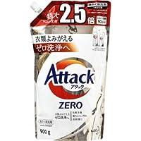 花王 アタックゼロ つめかえ用 (900g) 詰め替え用 アタックZERO 洗たく用洗剤 液体洗剤