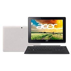Acer 2in1 SW3-013-N12D/WF Aspire Switch 10E ムーンストーンホワイト 10.1型液晶 Windows 8.1 withBing32ビット Atom Z3735F/1.3GHz 2GB 64GBeMMC+500GB Microsoft Office Home & Business 2013