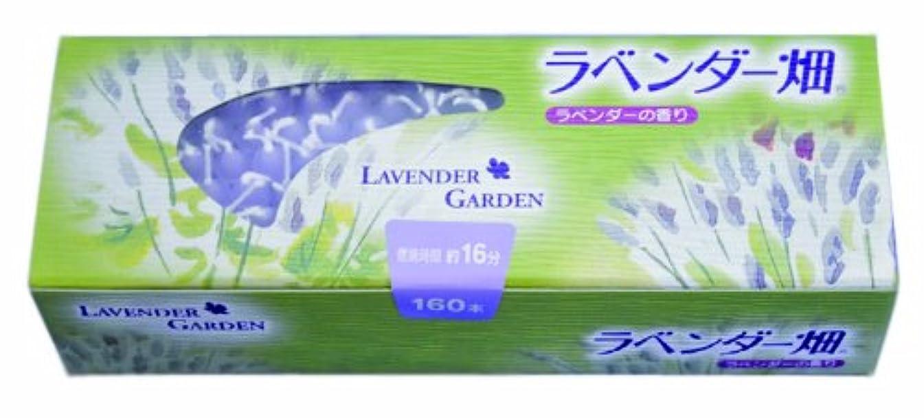 アトミック薄いです枠キャンドル ラベンダー畑16分 ラベンダーの香り