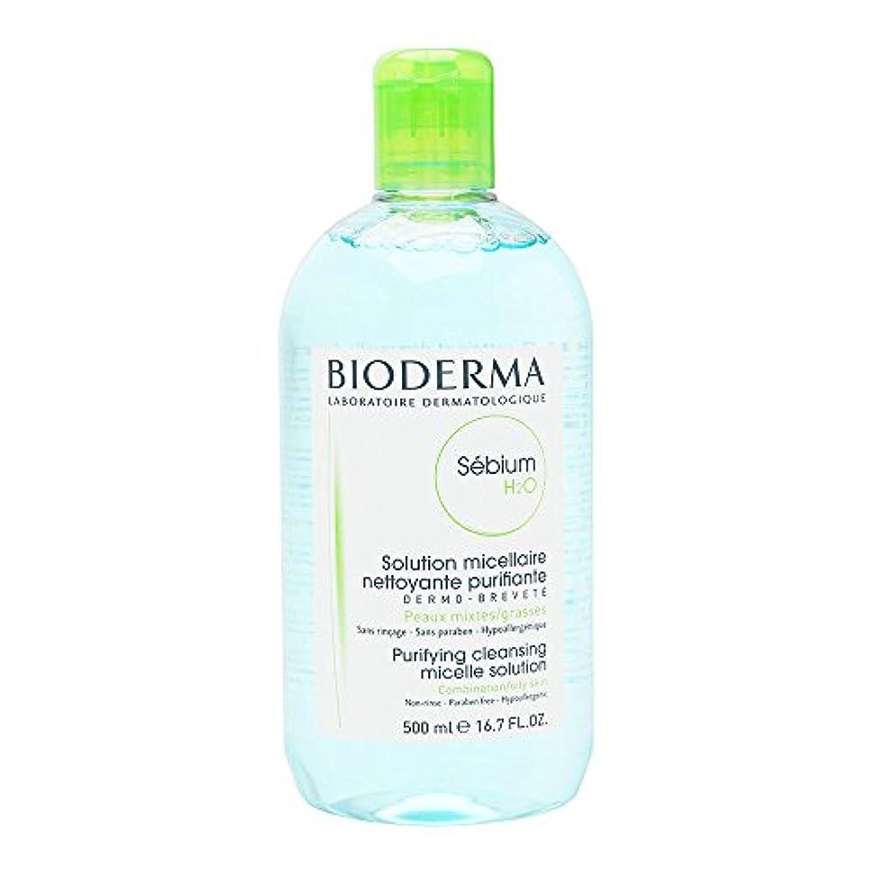 男らしい変形する策定するビオデルマ セビウム H2O (エイチ ツーオー) D 500mL(BIODERMA)