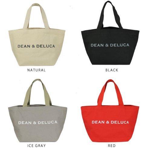 ディーン&デルーカDEAN&DELUCA レディース キャンバス トートバッグ(小)【デルーカ・Sサイズ】 (レッド)