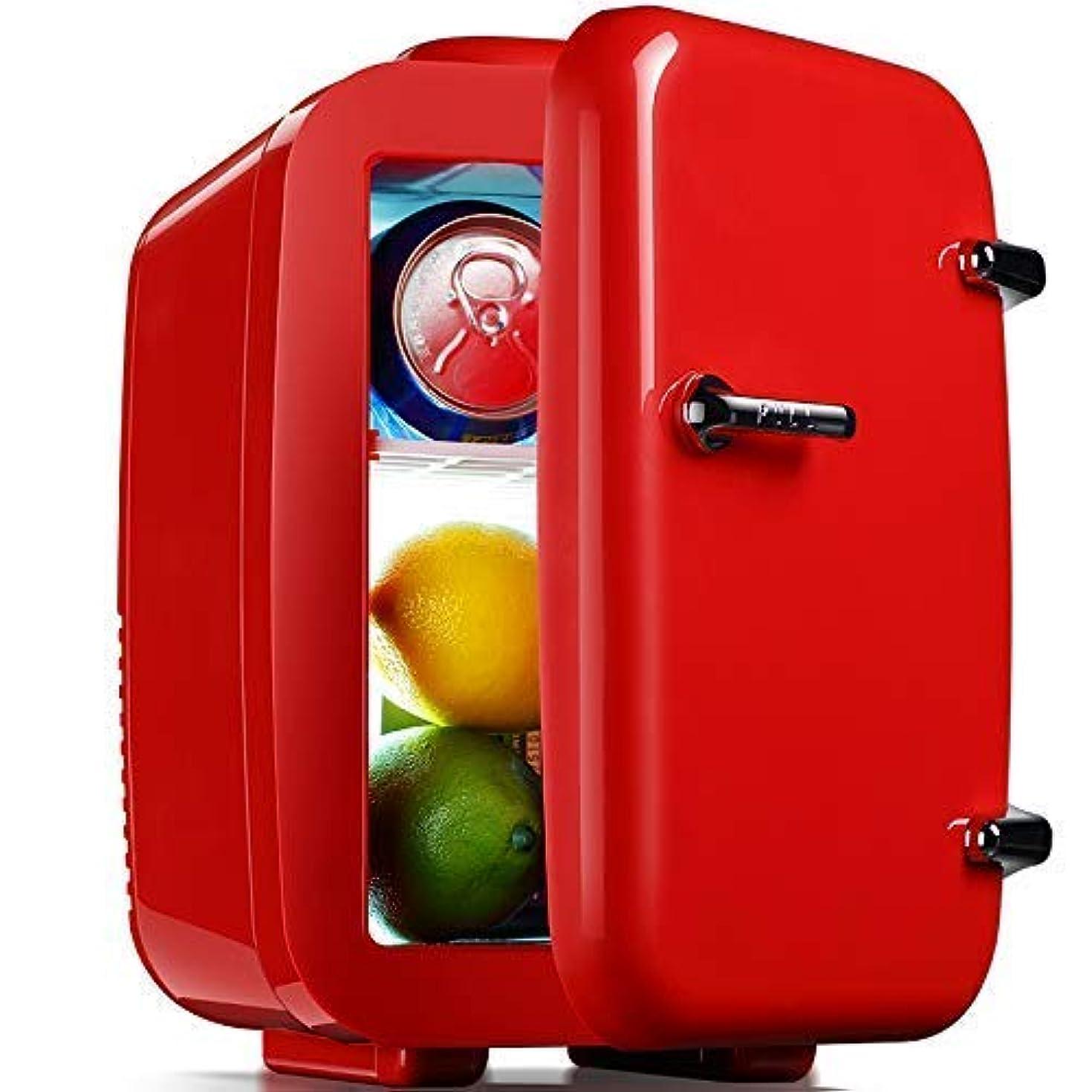 運営野なサスペンドLuckya ポータブルコンパクトパーソナル冷蔵庫クールス、4リットルの容量は6 12オンス缶、12Vと環境に優しい車の充電器を冷却します
