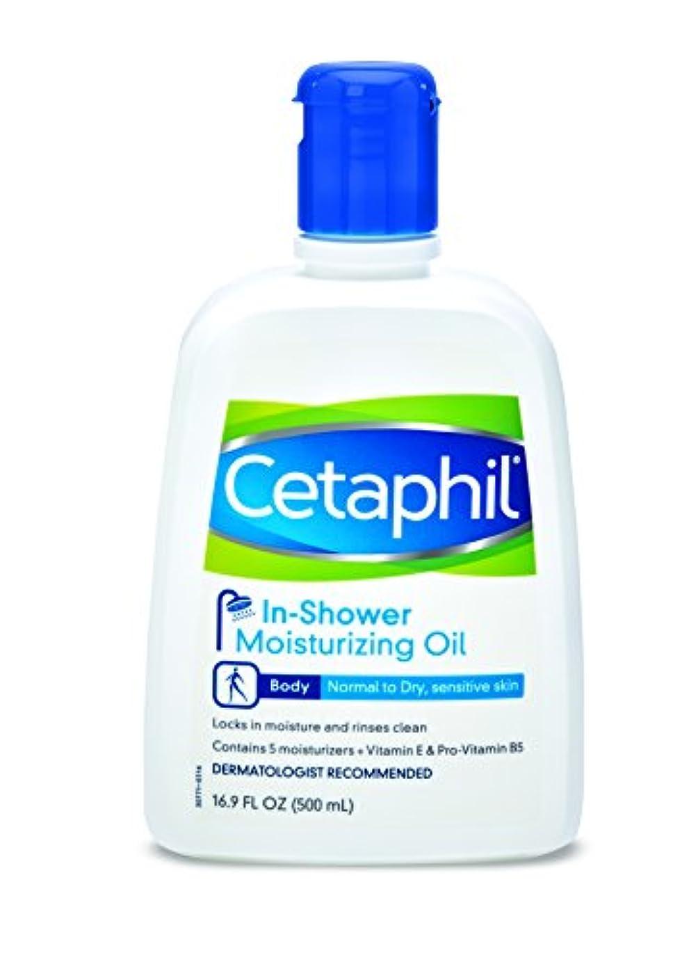 Cetaphil 通常からドライ用のインシャワー保湿オイル、Sensativeスキン、16.9オンス