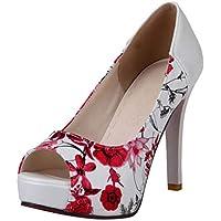 MisaKinsa Women Fashion High Heel Pumps Slip On