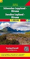 Sweden Lapland - Kiruna Sheet 6 Road Map 1:400 000