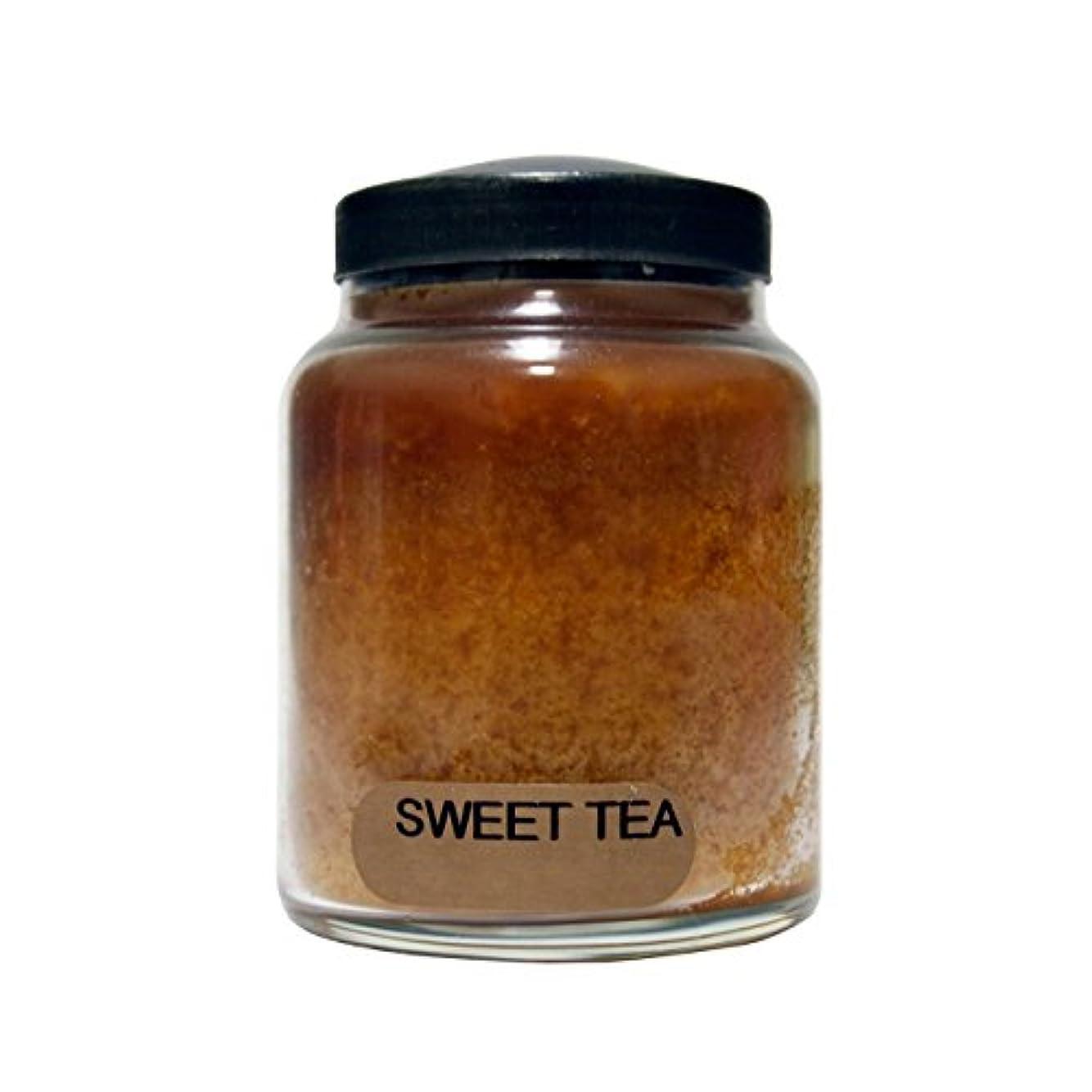 コース吸い込むA Cheerful Giver Sweet Tea Baby Jar Candle, 6-Ounce [並行輸入品]