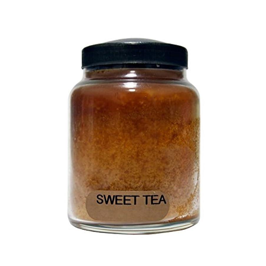 ハドル実現可能性クランシーA Cheerful Giver Sweet Tea Baby Jar Candle, 6-Ounce [並行輸入品]