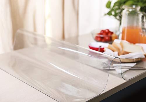 デスクマット テーブルマット 透明 クリア PVC製 オーダー オフィス用