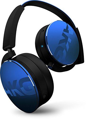 AKG Y50BT ワイヤレスヘッドホン Bluetooth 密閉型 DJスタイル ブルー Y50BTBLU【国内正規品】