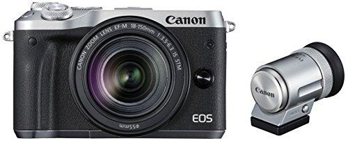Canon ミラーレス一眼カメラ EOS M6 レンズEVFキット(シルバー) EF-M18-150mm F3.5-6.3 IS STM付属 EOSM6SL...