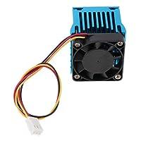 FLAMEER PC ラップトップ マザーボード ノースサウスブリッジ ラジエーター 冷却ファン - ブルー