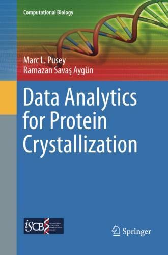 Data Analytics for Protein Cry...