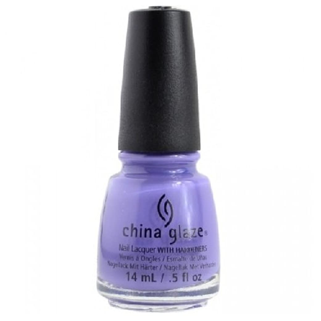 宝石意識破裂CHINA GLAZE Nail Lacquer - Art City Flourish - What A Pansy