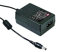 デスクトップ工業用電源アダプタ(Level V) 18W 48VDC/0.375A GST18B48-P1J Meanwell AC-DC スイッチング電源 GST18Bシリーズ明纬電源