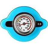 Blesiya Accurate Gauge Radiator Cap Thermostatic Temperature 1.3 BAR Small Head Blue