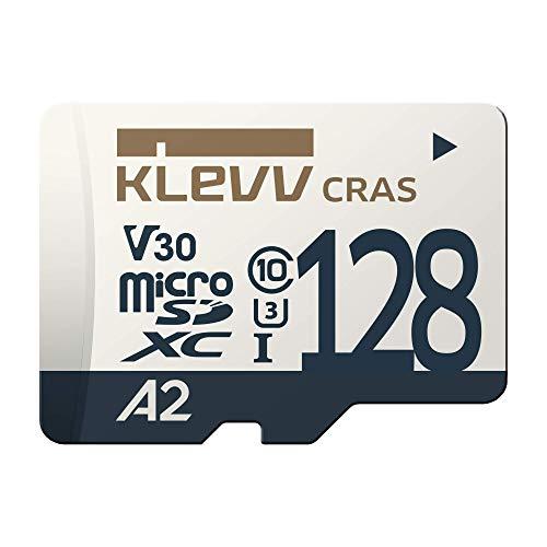 『KLEVV microSDXC 128GB UHS-I U3 V30 A2 読込:100MB/s 書込:80MB/s (最大) Nintendo Switch 動作確認済 K128GUSD6U3-CA』の1枚目の画像