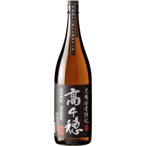 高千穂酒造 高千穂 黒麹・麦 黒ラベル 25度 1800ml ...