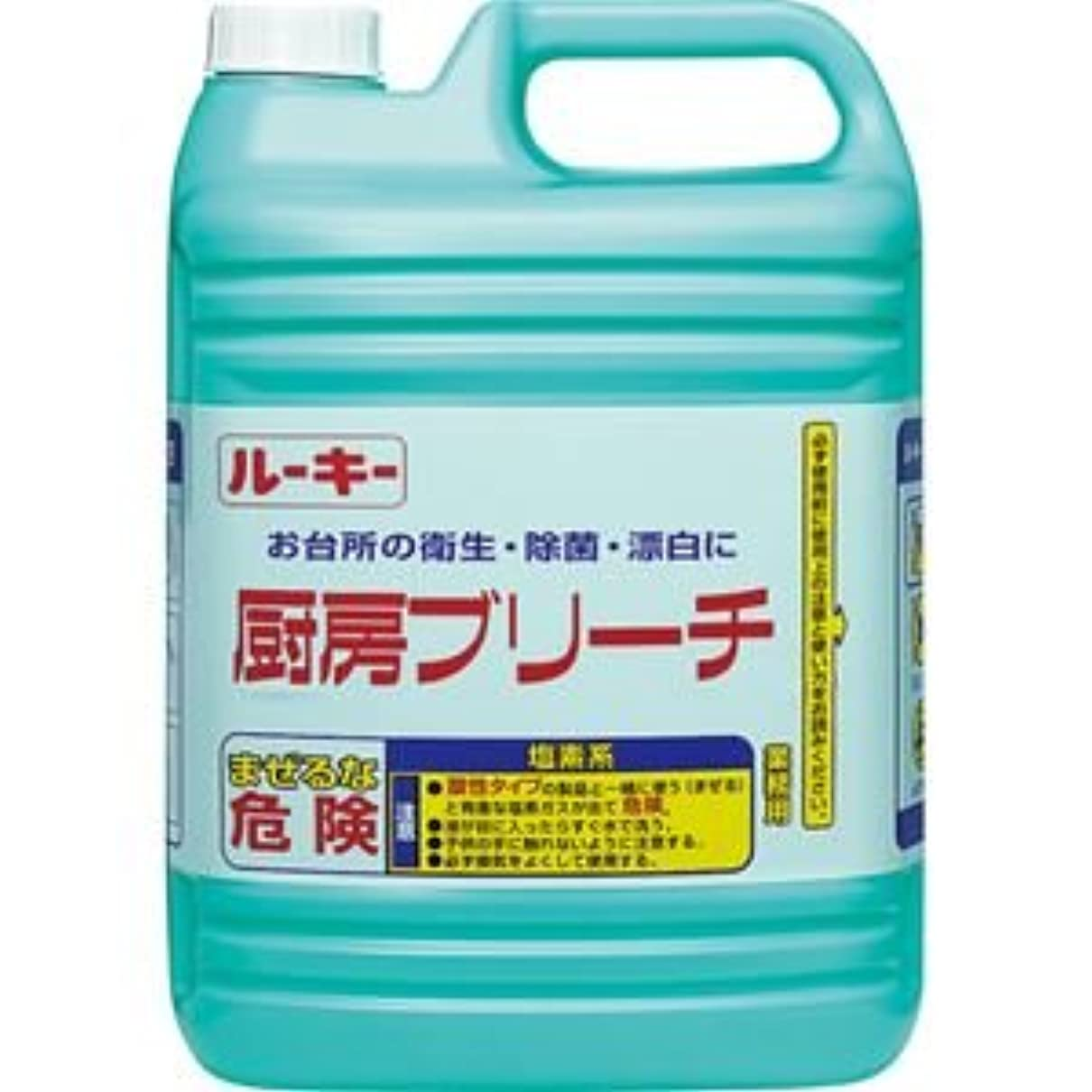 メディック傷跡ジュース(まとめ) 第一石鹸 ルーキー 厨房ブリーチ 業務用 5kg 1本 【×5セット】