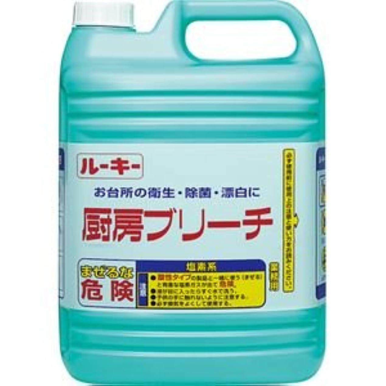 ケージハイキング伝染病(まとめ) 第一石鹸 ルーキー 厨房ブリーチ 業務用 5kg 1本 【×5セット】