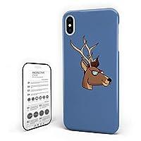 iPhone 7/ iPhone 8 カバー 眼鏡かける 漫画 鹿 ケース 全面保護 指紋防止 耐衝撃 すり傷防止 超耐久 スマホケース 防塵 薄型 アイフォン ケース カバー 携帯ケース 携帯カバー