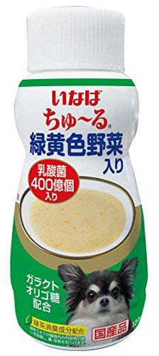 いなばペットフード ちゅ~るボトル 緑黄色野菜入り 120g