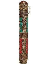 エキゾチックインディアzca63 Big Incense Sticksホルダー