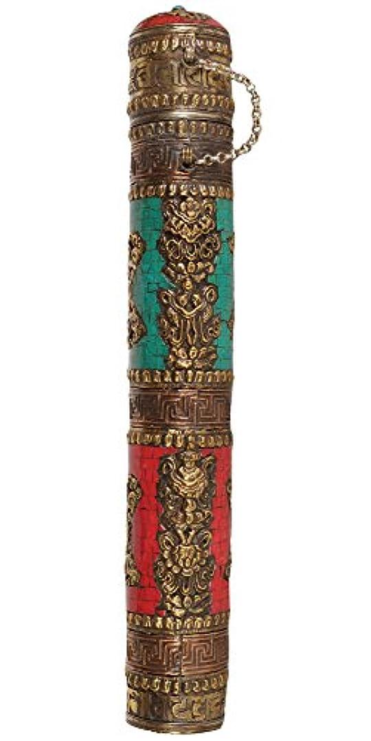 実行可能申し立てられた副詞エキゾチックインディアzca63 Big Incense Sticksホルダー