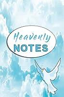 Notizbuch Heavenly Notes: Notizbuch mit suesser Taube